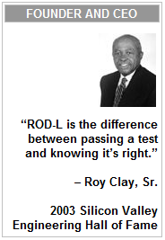 ROD-L Electronics Founder and CEO - Roy Clay Sr.